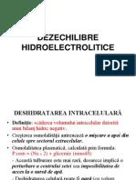 2 Dezechilibre Hidroelectrolitice 2013, Studenti CMU, New Microsoft PowerPoint Presentation