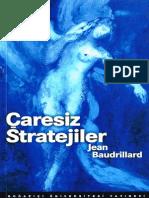 Jean Baudrillard - Çaresiz Stratejiler