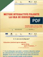 Nemes M Nandor - Metode La Ora de Dirigintie (1)