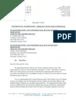 Ante Litem Notice- Probate Court
