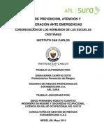 San Carlos Plan Emergencias Mayo 2014