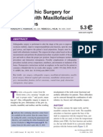 Orthognathic Surgery for Patients With Maxillofacial Deformities