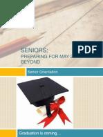 senior orientation class of 2014