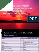 sophomore junior parent presentation class of 2014 and 2015