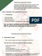 EXPLORACIÓN FISICA DE TORAX #3