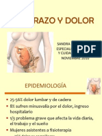 Embarazo y Dolor