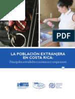 La Población Extranjera en Costa Rica
