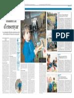 Reportatge sobre educació lliure
