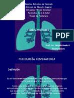Fisiología del aparato respiratorio # 2