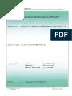 Estudio de Mecánica de Suelos Acceso Principal Mina Tantahuatay