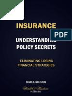 Insurance - Understanding Policy Secrets