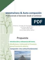 Mindfulness y Auto-compasión, Promoviendo El Bienestar Desde El Comienzo (Final)