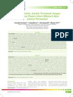 1_05_220Analisis Kaitan Jumlah Trombosit Dengan Mortalitas Pasien Infark Miokard Akut