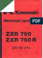 Kawasaki Zxr 750 Manual de Servicio