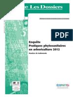 Agreste Les Dossiers - n° 22 - Décembre 2014_Enquête Pratiques phytosanitaires en arboriculture 2012_