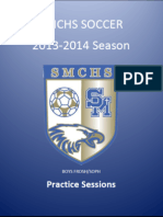 SMCHS Boys Soccer Practice Sessions