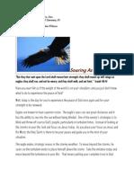 Cynthia Wilson Ministries - Devotion 011010- Soaring as an Eagle
