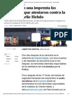 Abatidos en Una Imprenta Los Terroristas Que Atentaron Contra La Revista Charlie Hebdo - Libertad Digital