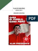 2 Plan de Gobierno de Alan García 2006  -