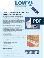 Airflow In-line extractor fans - the Aventa AV100 / AV150 range