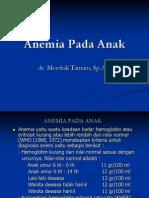 Anemia, Hemofili