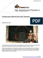 Guia Trucoteca God of War Ascension Playstation 3