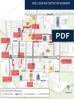 Ubc Road Closures Map