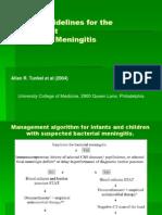 Guidlines Terapi Meningitis Bakteri