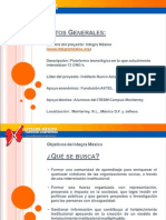 Presentación Integra México