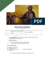 Breve Guía de Patrística