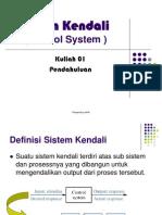 Kuliah Sistem Kendali 1
