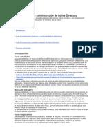 Guía Detallada de Administración de Active Directory
