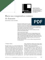 Articulo Computadora Cuantica