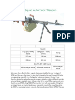 PKM Squad Automatic Weapon
