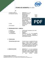 ABONOFOL 11 - 8 - 6