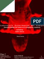workshop Laboratorio Experimental del Cuerpo 2104