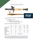 RPG-7 Rocket Launcher