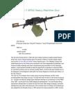 Kord 12 7 6P50 Heavy Machine Gun