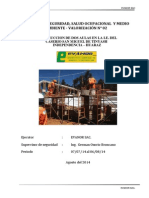 REPORTE DE SEGURIDAD VALORIZACION N° 02