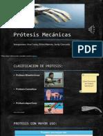 Diapositivas Prótesis Mecánica