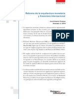 2014.11-Reforma Arquitectura Monetaria y Financiera Internacional-JA Campos