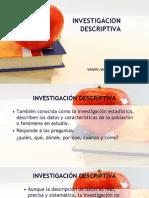 investigación descriptiva