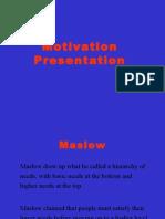 Motivation Presentation
