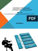 PSAK 25 Kebijakan Akuntansi Perusahaan Estimasi Akuntansi Dan Kesalahan IAS 18