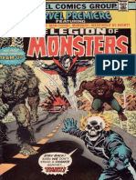 Marvel Premiere 28 the Legion of Monsters
