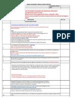 pp checklist