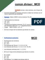 MCD Y MCM.ppt