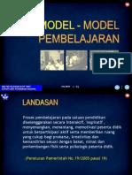 5 Model Model Pembelajaran