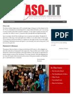 aso alumni newsletter issue 1