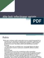 4Alte Boli Infecțioase Variate